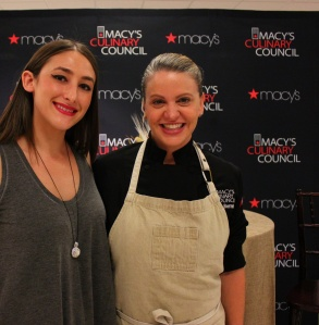 Interview with Macy's Culinary Council Chef Michelle Bernstein at Fall Cooking Demo in Boca Raton, Florida - MyWellness RD
